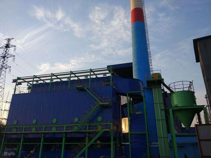 新型脱硫除尘一体化设备成功应用于唐荣动力厂75t/h燃气锅炉