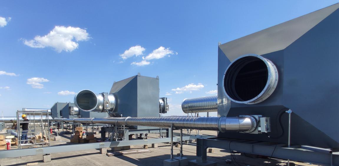 战役情  保蓝天---天津中核机械VOCS治理项目顺利完成验